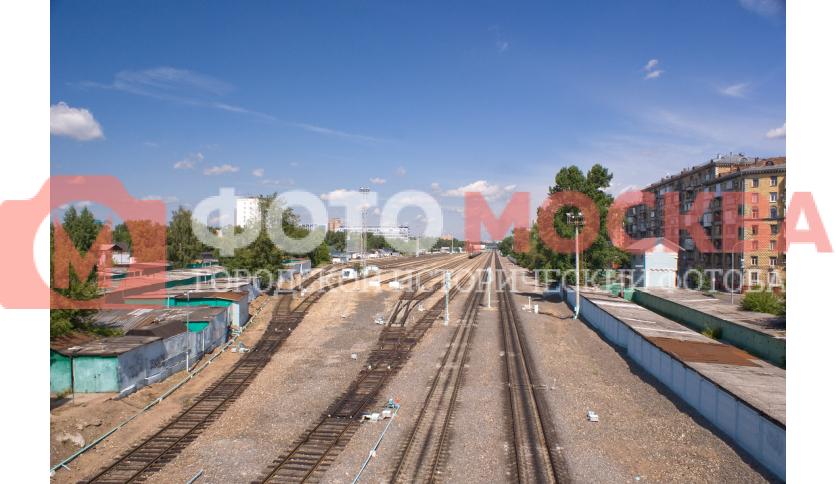 Железнодорожные пути вдоль ул. Панфилова