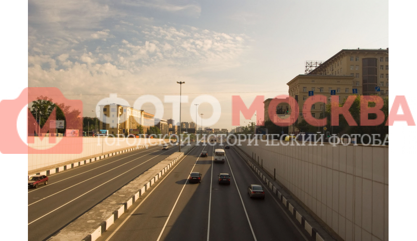 Проспект Мира от метро ВДНХ в сторону области