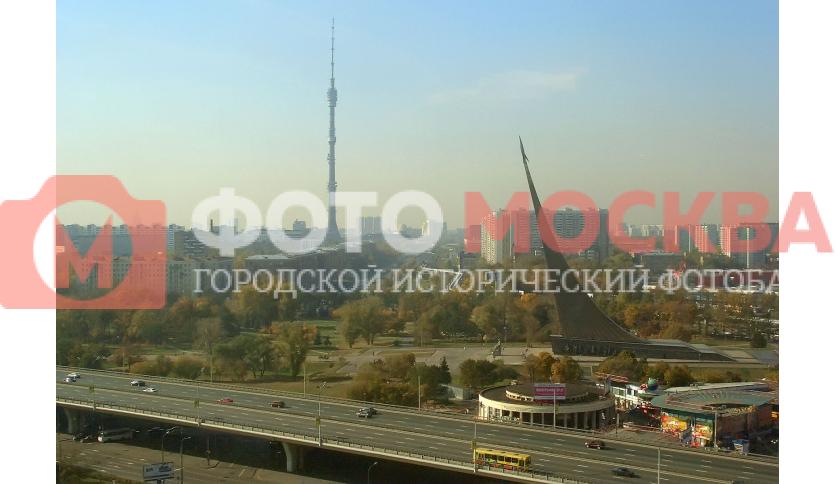 Проспект Мира и улица академика Королева. Вид из отеля