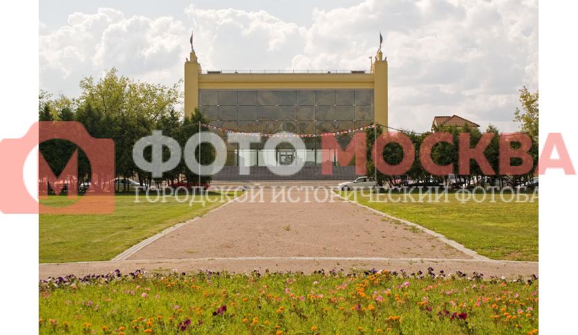 Главные трибуны Водного стадиона Динамо
