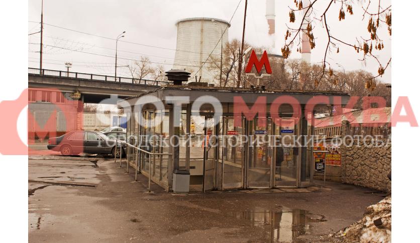 Станция метро Волгоградский проспект