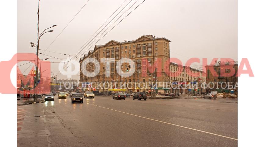 Угол Волгоградского проспекта и улицы Талалихина
